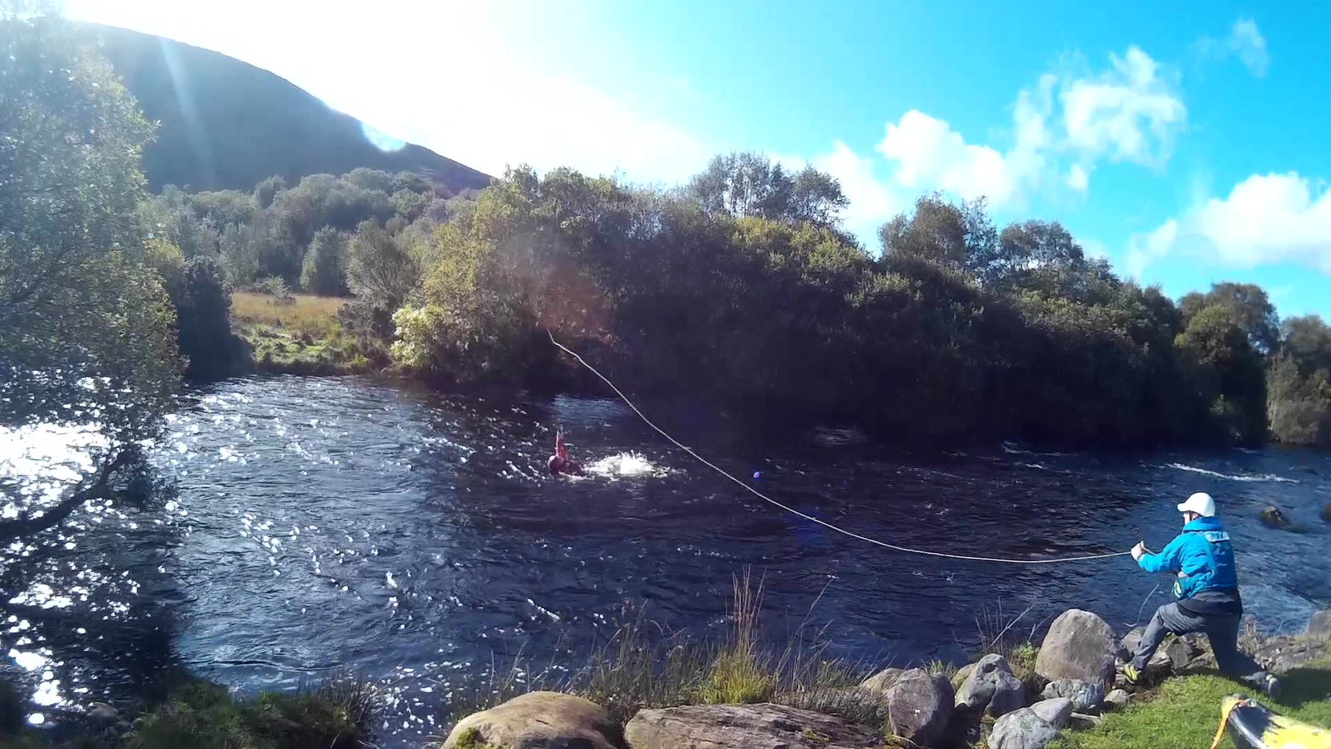 Kerry Canoe Club river safety and rescue training